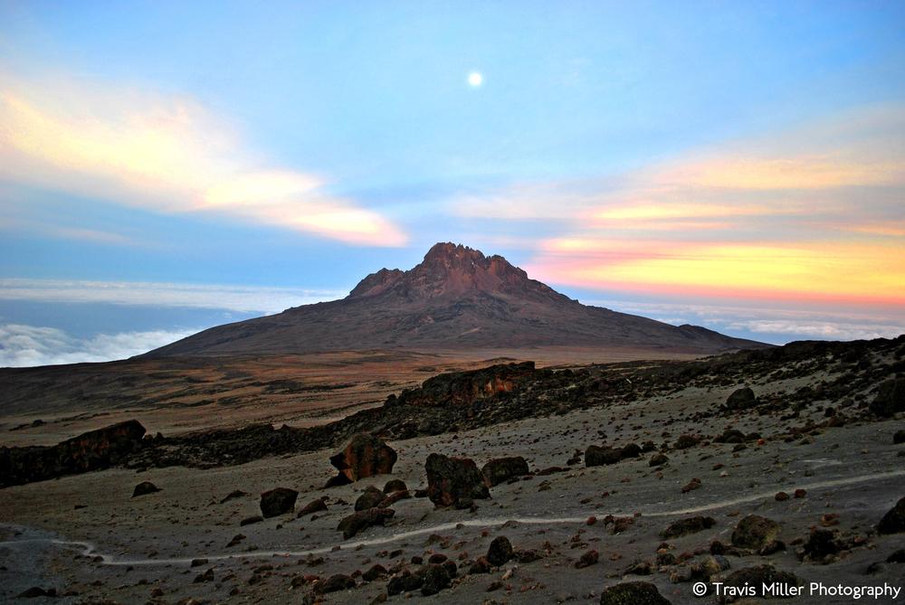 Mawenzi Rising /  Mount Kilimanjaro, Tanzania
