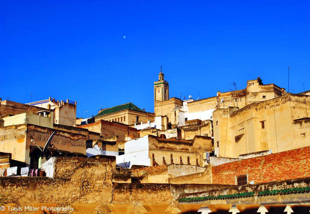 Minaret Rising /   Fes, Morocco