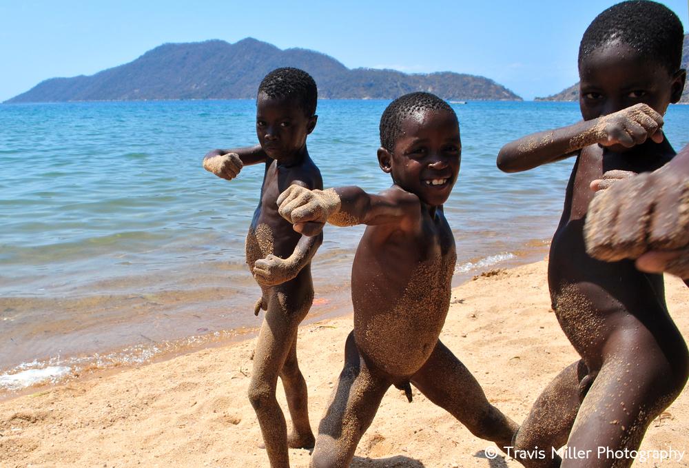 The Sandy Penis Gang /  Cape MacClear, Malawi