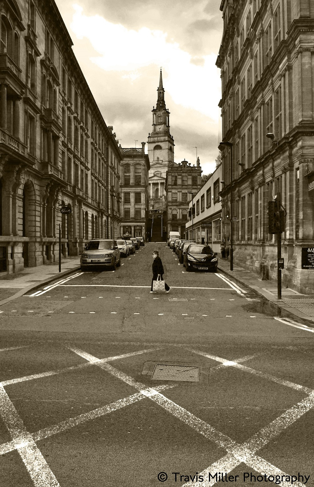 Crossin' /   Newcastle. England