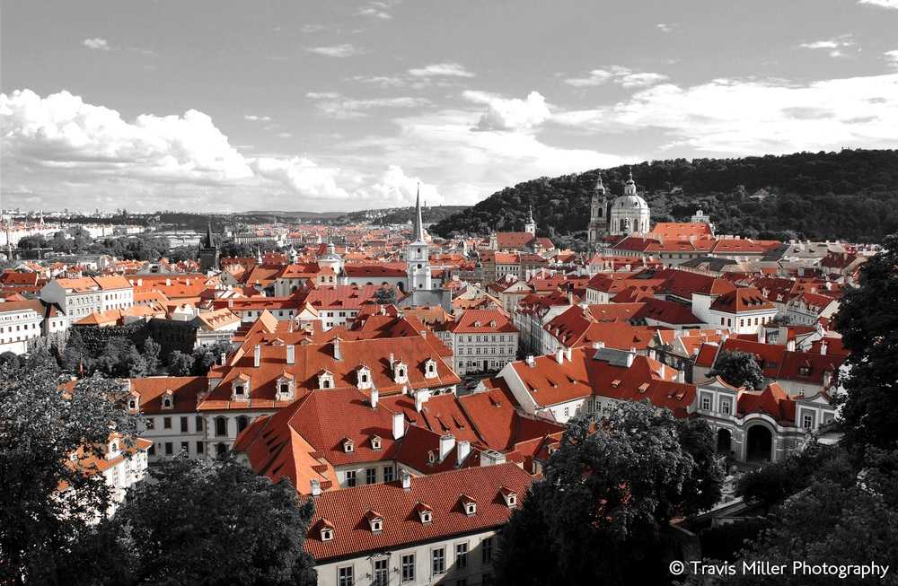 A Touch of Red /   Prague, Czech Republic
