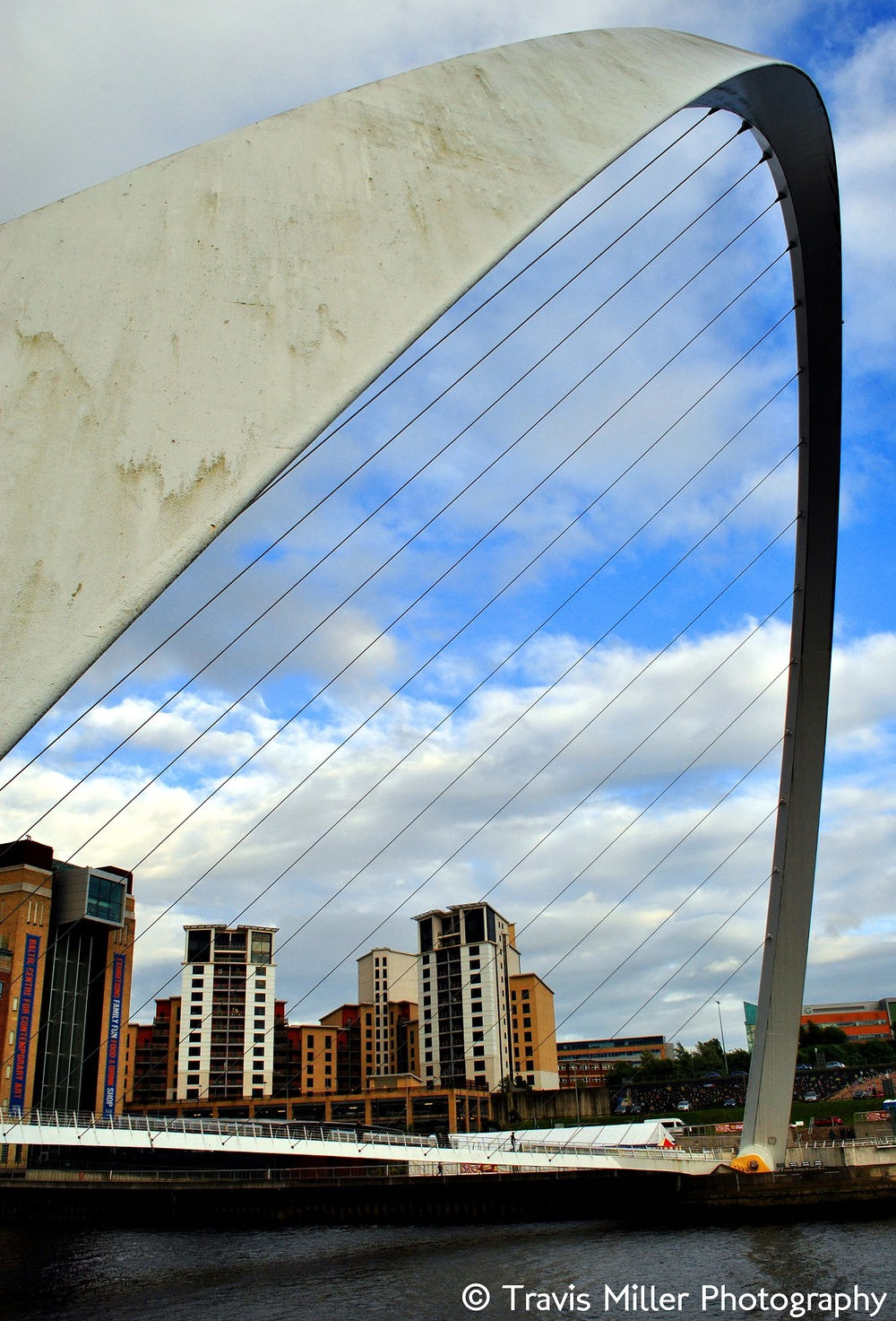 The Millennium Bridge /   Newcastle, England