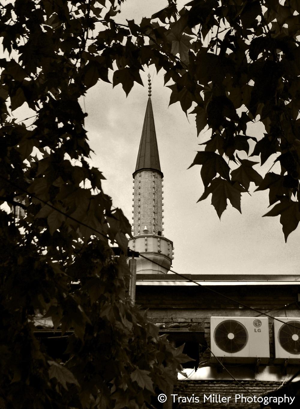 Spying the Minaret /  Sarajevo, Bosnia