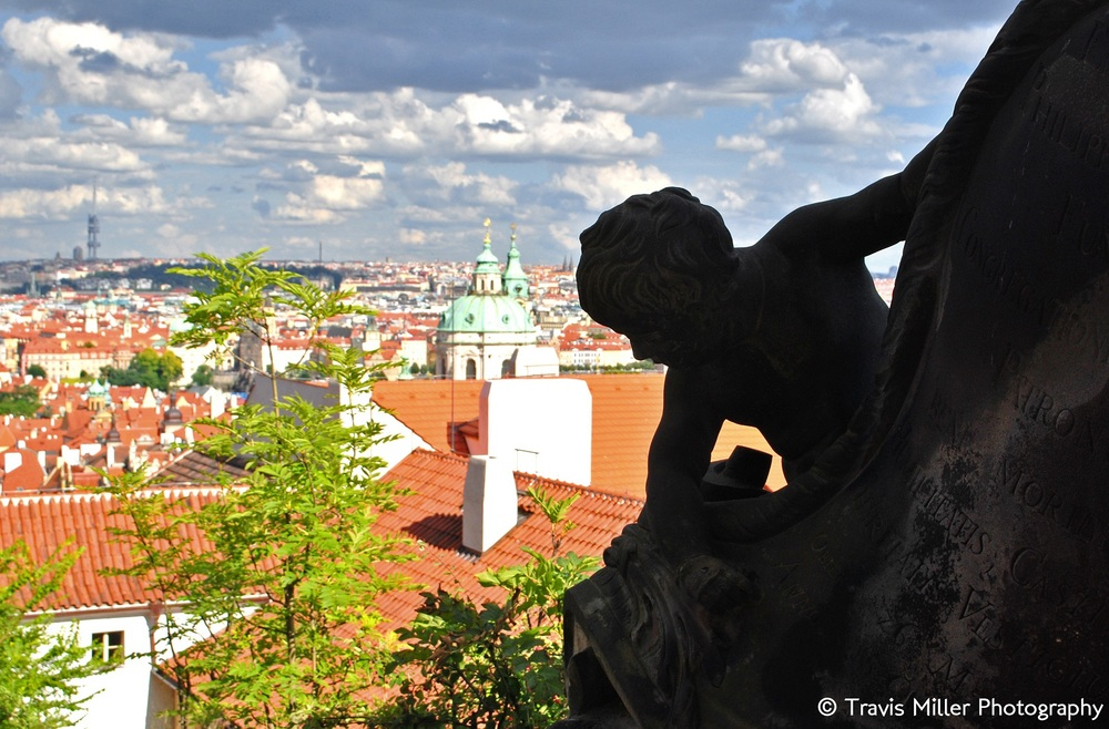 A Cherub  /   Prague, Czech Republic