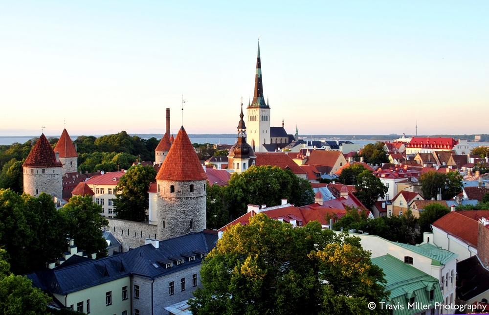 Bird's Eye View /   Tallinn, Estonia