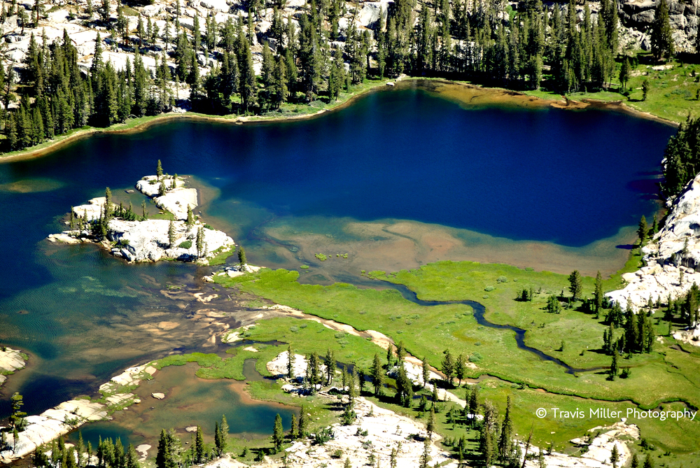 Smedberg Lake from Volunteer Peak /  Yosemite National Park, CA