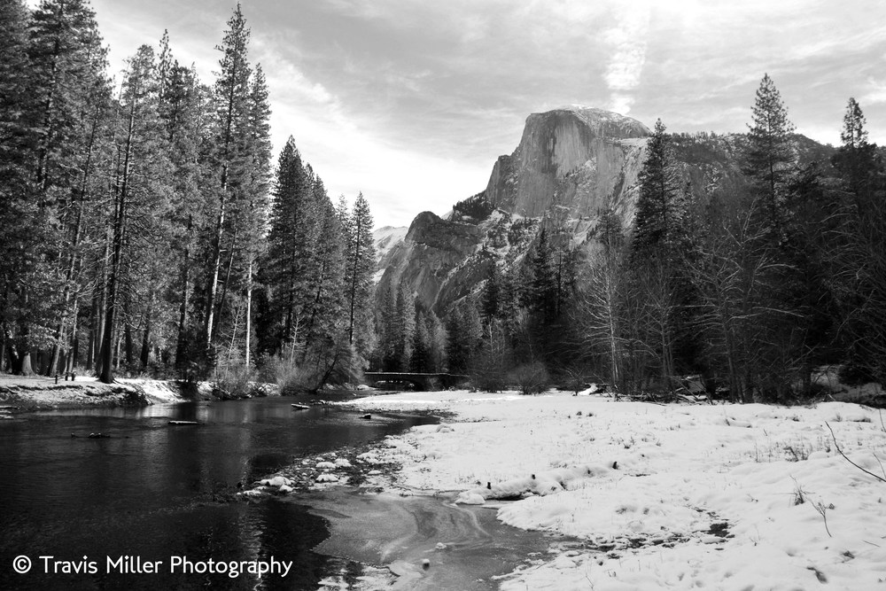 A Winter's View /    Yosemite Valley, CA