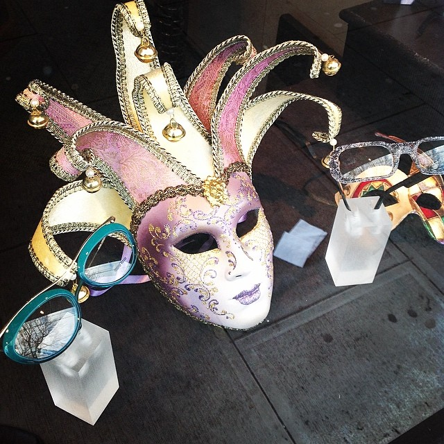 Masks and eyeglasses #central vision care
