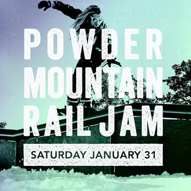 Railjam at powmow this weekend!! Pretty sure it's free. Check out @powdermountain for the details!!