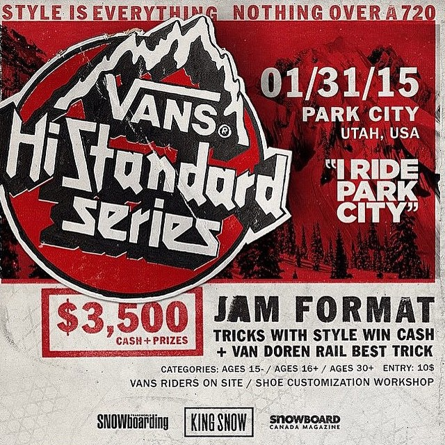 Vans contest at PC this weekend!!
