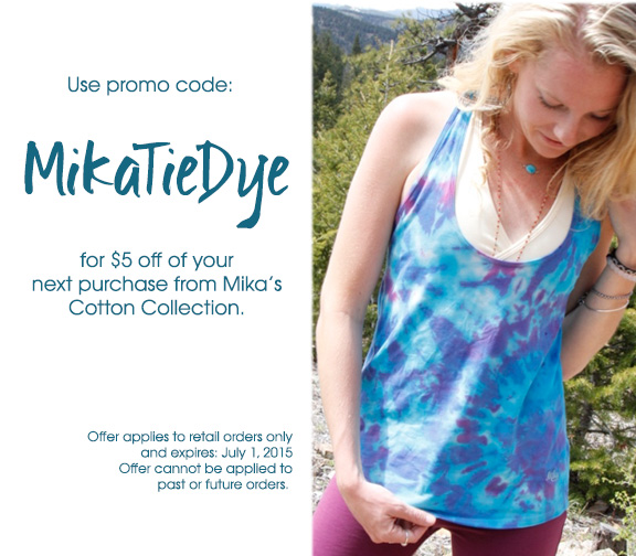 Shop on Mika Yoga Wear with coupons and enjoy big savings. Steps are quite easy to do. You just need to choose one of these 40 Mika Yoga Wear coupons in December or select today's best coupon Up to 20% off Side String Shorts, then go visit Mika Yoga Wear and use the coupon codes you choose when you are ready to make the payment.
