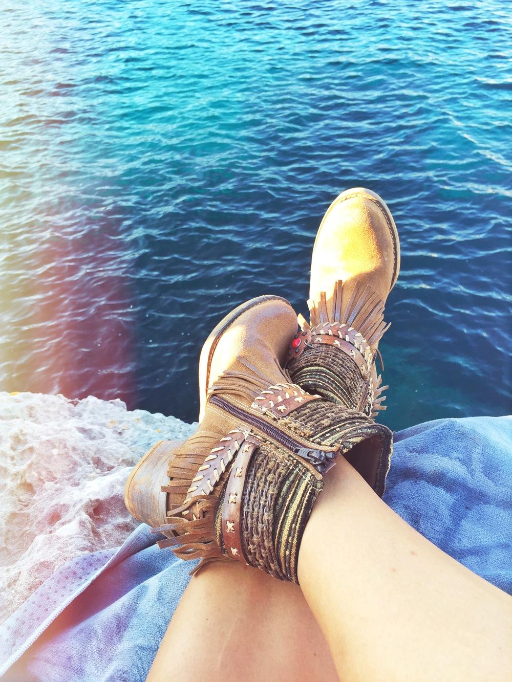 Menorcan Boho Boots