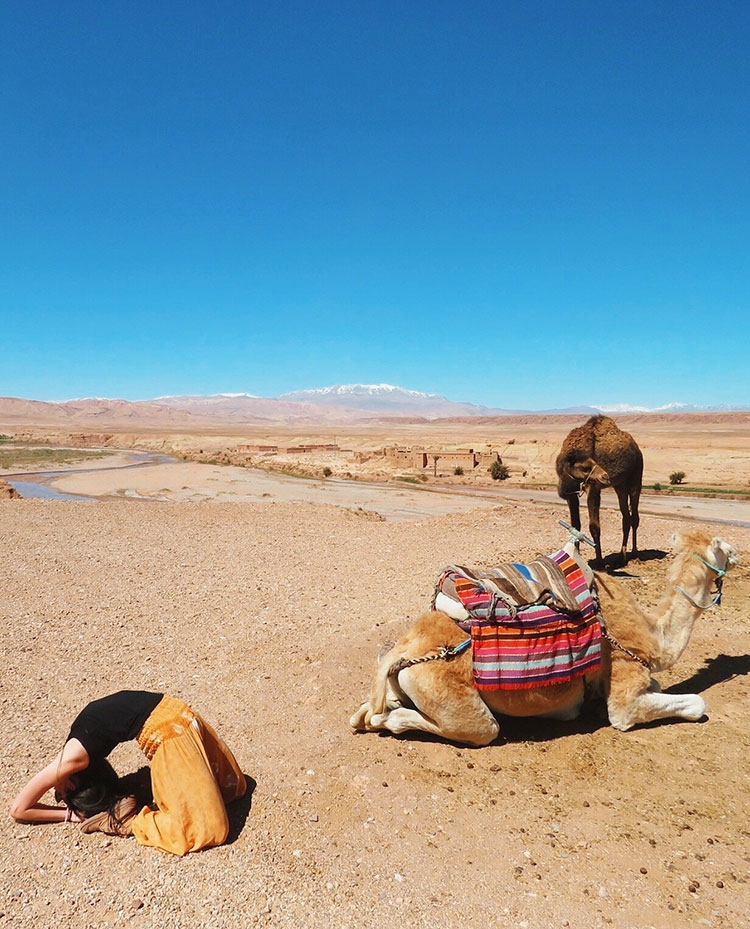 """""""Just another day in the Sarhara desert."""" by Jaclyn Gabbert"""