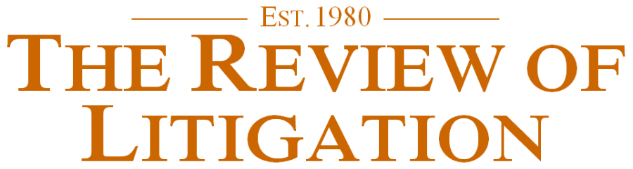 The Review of Litigation