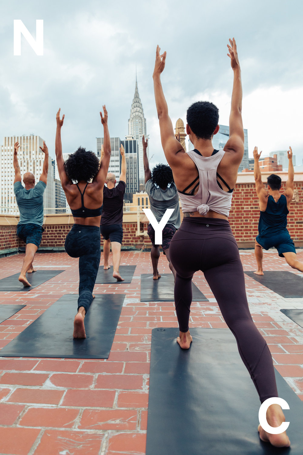 yoga lifestyle campaign photography and art direction for lululemon