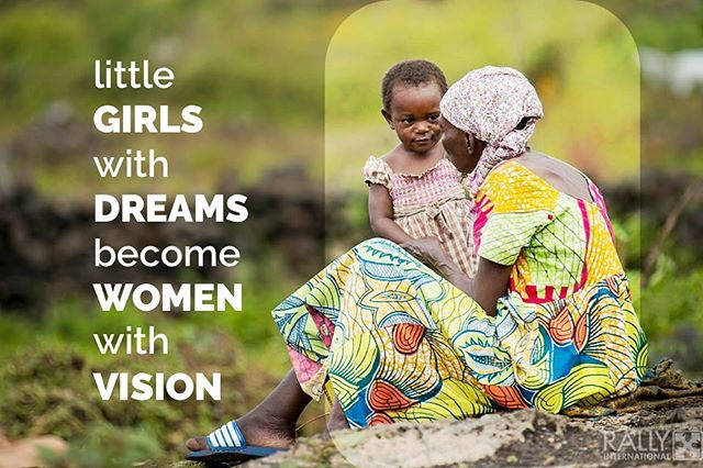 Young girls are most susceptible to abuse and neglect in the society. Putting them in school gives them a hand up in reaching their full potential. #congolese #girls #feminism #drc #congo #education #vision #women
