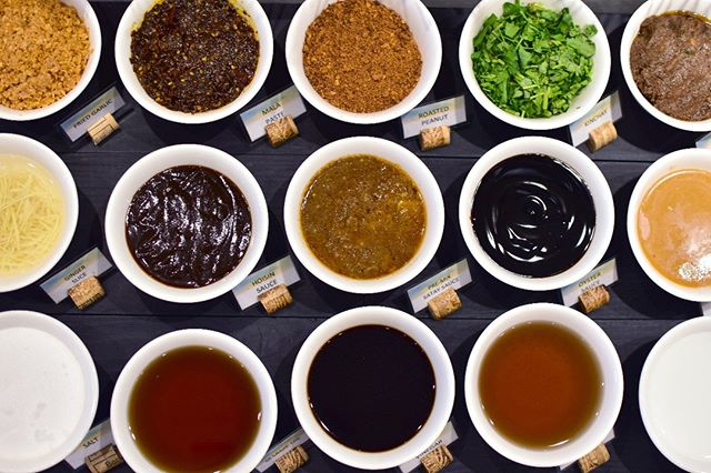 No need to overthink, just whip up your ideal hotpot sauce mix! 'Cause we're sure you'll come up with something good from our fine selection of condiments!  #TheHottestBuffetInTheCity  #AlwaysFreshAlwaysInSeason