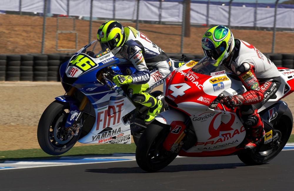 Rossi & Barros: Turn 11, Laguna Seca