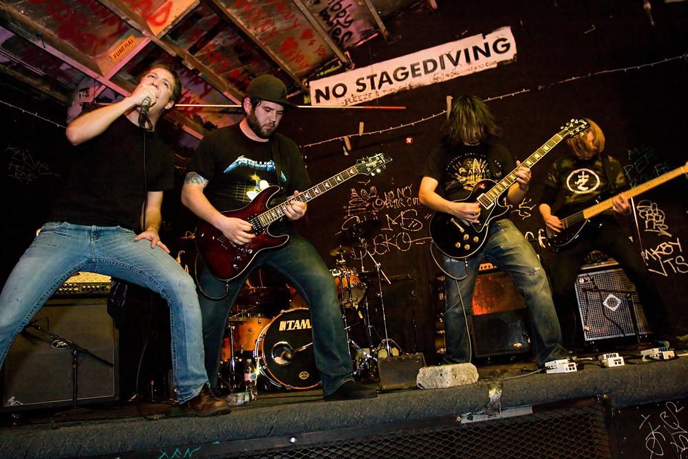 No Stagediving, Gilman St., Berkeley