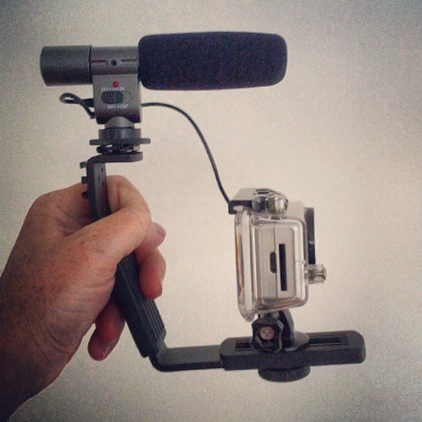 This was my shooting setup for the video. Functional, and a delight to use.