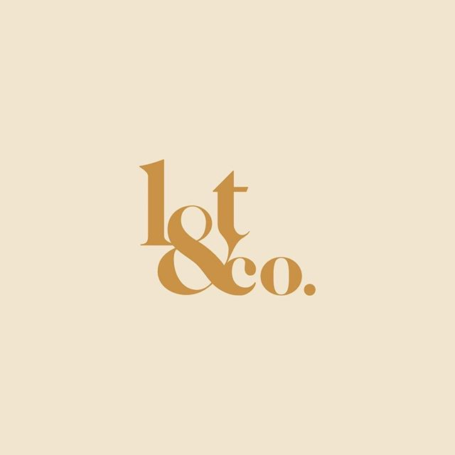 One of my favourite branding projects: Lot & Co logo design 😍