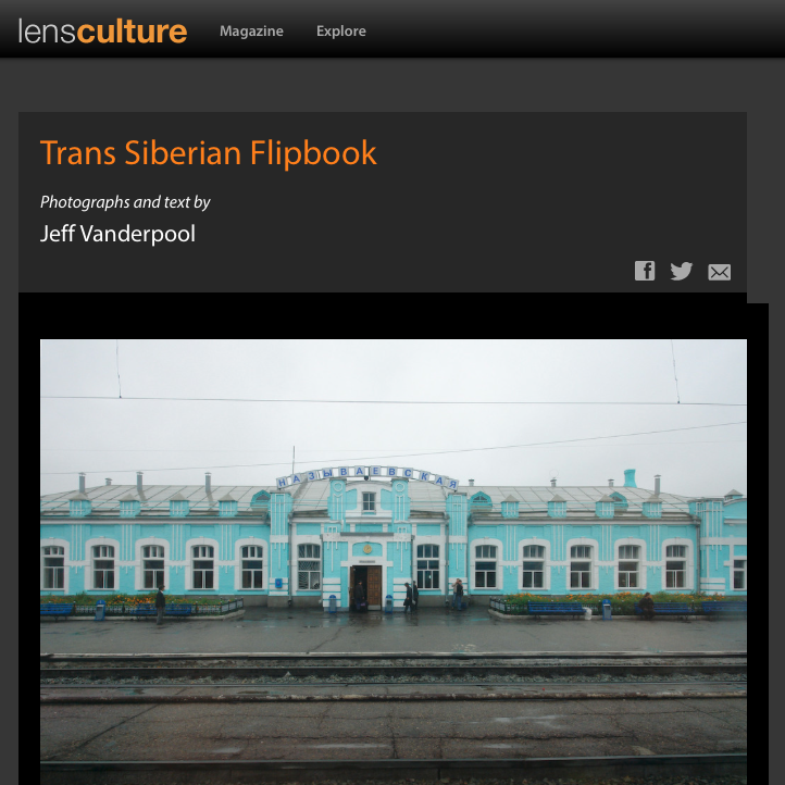 Trans Siberian Flipbook