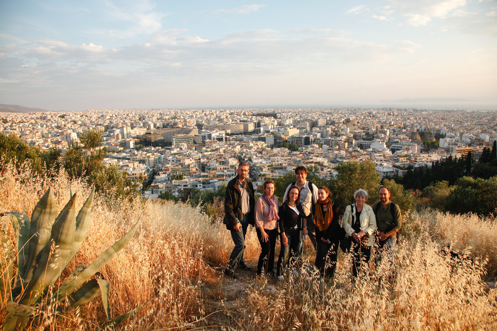 Site visit to Philopappos Hill for  The Natural Landscape as a Monument