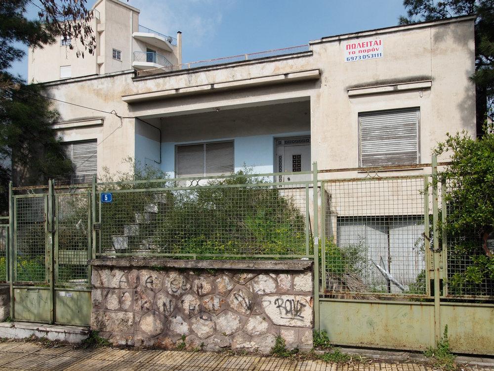 Postwar residence, Athens