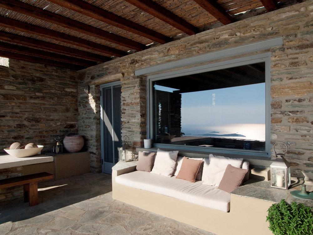Villa in Andros