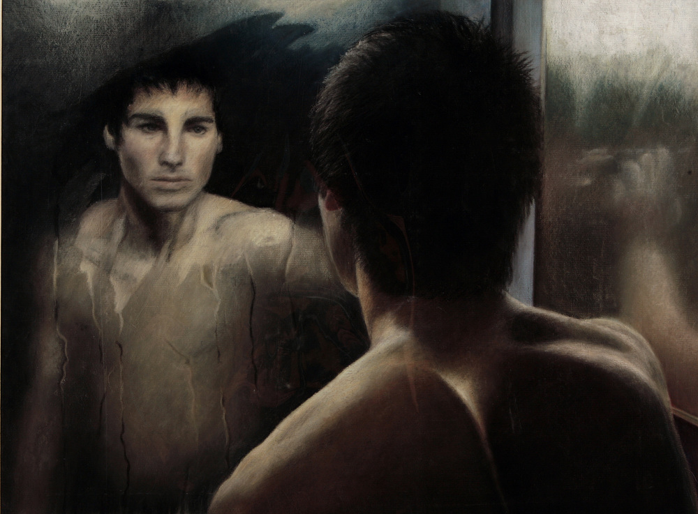 Self Reflection - Chalk Pastels on Paper.jpg