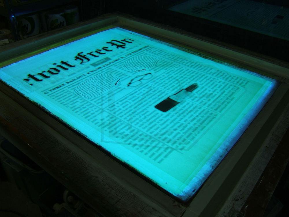 """Presbyopia Screenprint"""