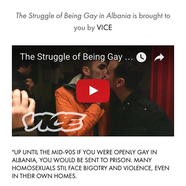 The Struggle of Being Gay in Albania #lgbtq #aleancalgbt