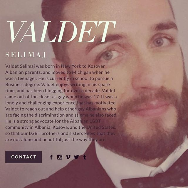 Get to know our latest author Valdet Selimaj. He is an inspiration to us all at #FEMRAT!