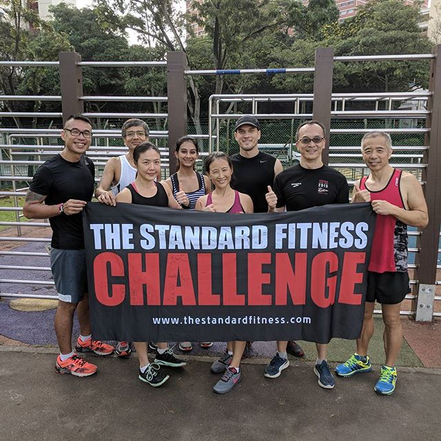Great job Singapore! Another great group who took up the challenge and tested themselves.