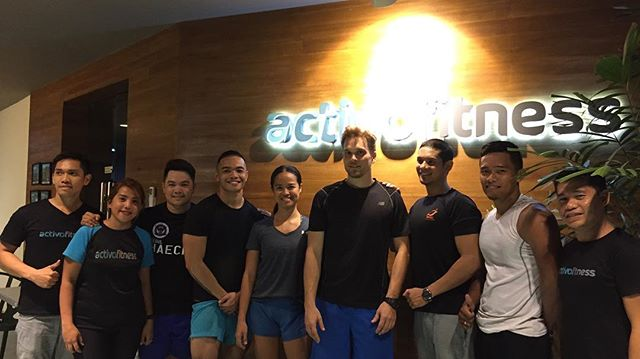   A COMMUNITY THAT WILL CHALLENGE YOU, PUSH YOU and MOTIVATE YOU  💥👊🏻 . . An amazing gym with energetic, enthusiastic and motivating coaches and members! Thank you so much @activofitnessph for hosting #TheStandardFitnessChallenge 🙏🏻
