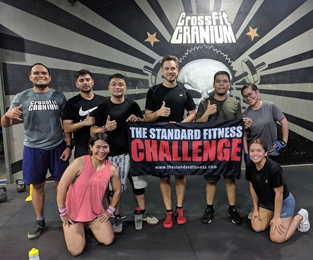 3 years in a row! 🙌🏻 Thank you so much @crossfitcranium for hosting #TheStandardFitness for three years now!   #TestYourself  #TheStandard #TheStandardFitnessChallenge