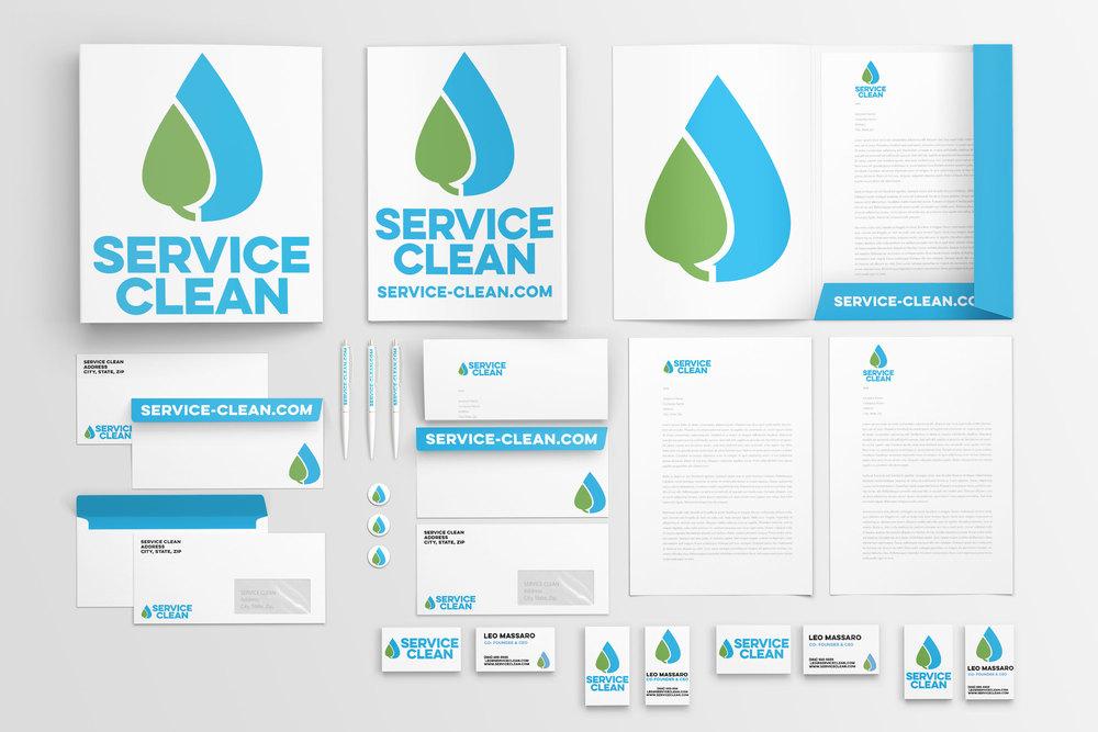 Service Clean Branding