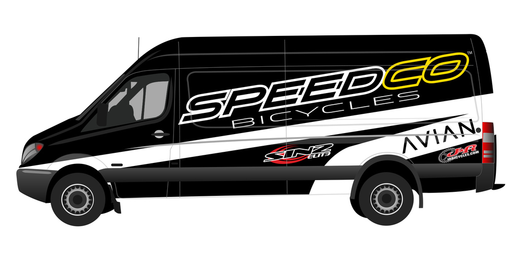 Speedco Bicycles Sprinter Van