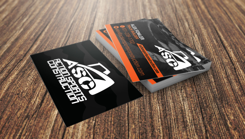 Print media bryce betts designs bmx graphic design action sports construction business cards colourmoves