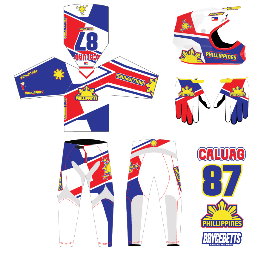 Philippines BMX Racing Olympic Gear Design