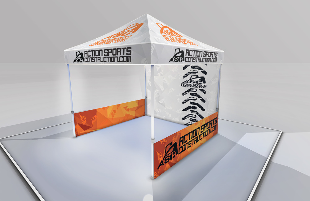 Action Sports Construction Tent