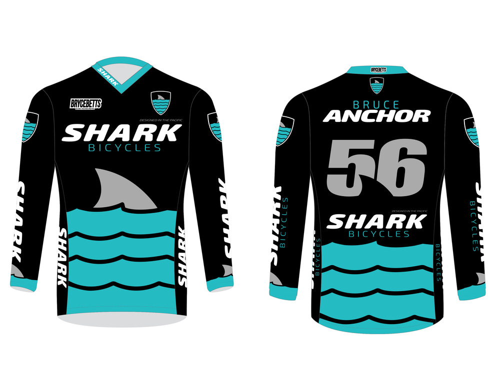 Custom Jersey for Shark Bicycles