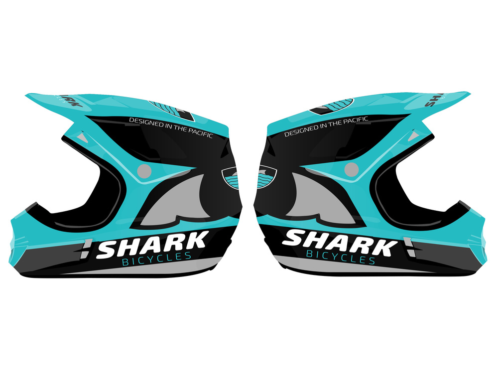 Shark Bicycles Helmet