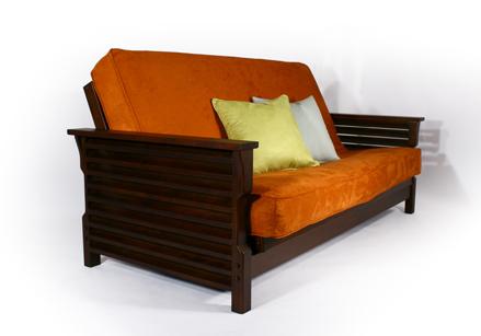 plantation dark cherry futon frame  rh   templeslug