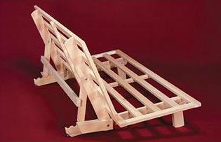 metro bifold futon frame  rh   templeslug