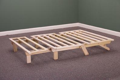 trifold futon frame  rh   templeslug