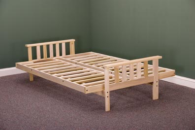 mission bifold futon frame  rh   templeslug