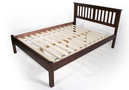 Venado Cherry Platform Bed Frame