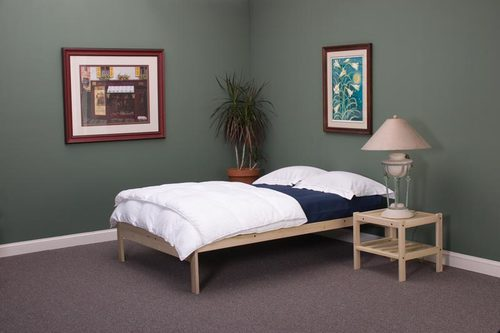 - Simple Platform Bed Frame