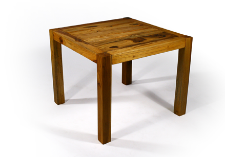 The Teak Inlay End Table